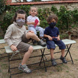 Ariane 7 - Masques enfants